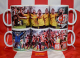 '6 in a row' Double mug set and print bundle
