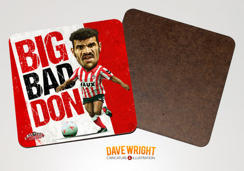 Don Goodman - Sunderland cult hero-  drinks coaster.
