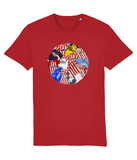 SAFC-80s & 90s classic shirts - red t-shirt