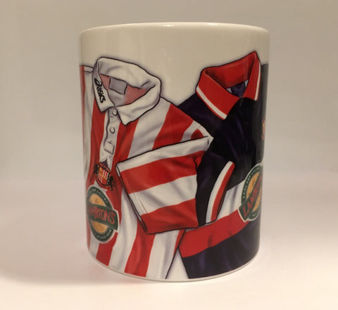CLEARANCE - SLIGHT SECONDS - 105 points kit (Sunderland AFC) Mug