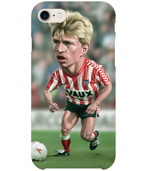 iPhone 8 Full Wrap Case featuring Marco Gabbiadini of Sunderland