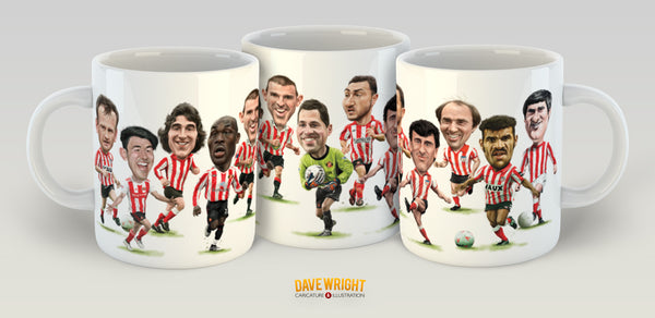 Cult heroes & crowd favourites (Sunderland AFC) Limited Edition Mug