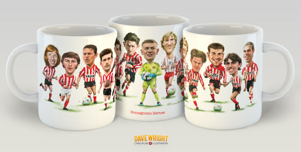 Homegrown Heroes (Sunderland AFC) Limited Edition Mug