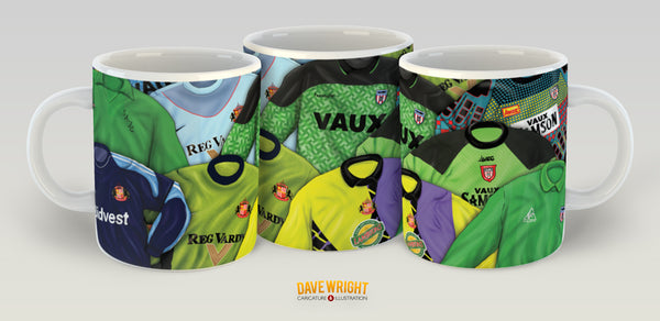 Classic Keeper tops (Sunderland AFC) mug - by Dave Wright