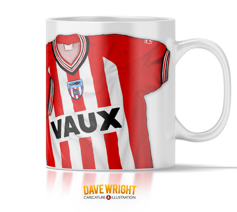 1987-88 Third Division Champions (Sunderland AFC) mug - by Dave Wright