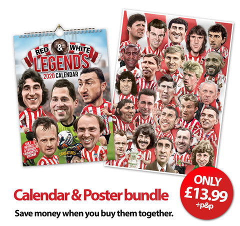 'Homegrown Heroes' Calendar & Legends Poster Bundle
