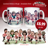Red & White Legends (Sunderland AFC) Limited Edition Mug