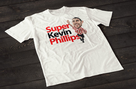 Super Kevin Phillips (Sunderland) T-shirt