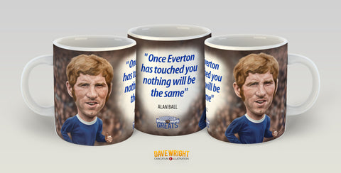 Alan Ball (Everton FC) Limited Edition Mug