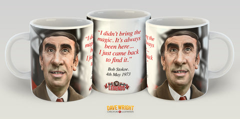 Bob Stokoe, Red & White Legends (Sunderland AFC) Caricature Mug