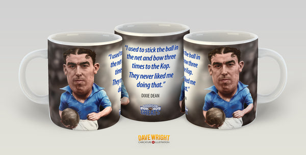Dixie Dean (Everton FC) Limited Edition Mug