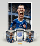 Duncan Ferguson (Everton FC) Limited Edition Mug and Print bundle