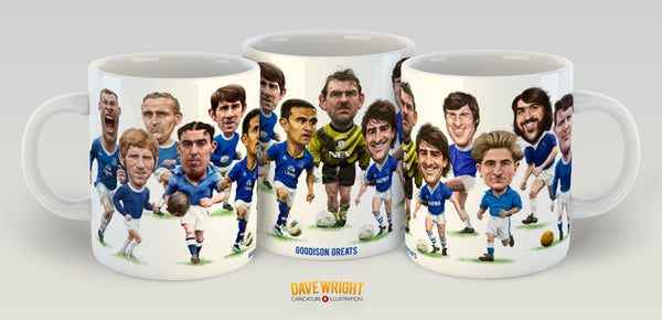 Goodison Greats (Everton FC) Limited Edition Mug