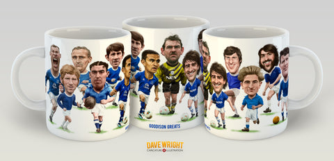 Goodson Greats (Everton FC) Limited Edition Mug