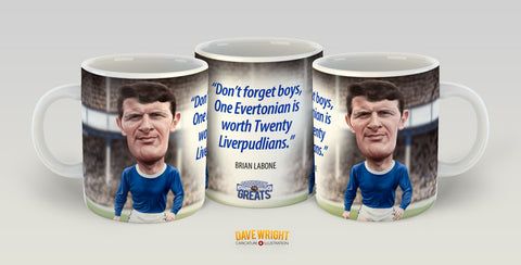 Brian Labone (Everton FC) Limited Edition Mug