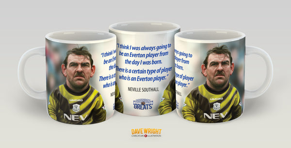 Neville Southall (Everton FC) Limited Edition Mug