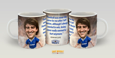 Kevin Ratcliffe (Everton FC) Limited Edition Mug