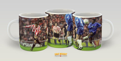 Kevin Phillips, 'The Golden Boot' (Sunderland AFC) Mug