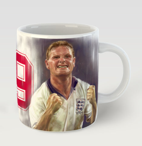 'Gazza' Limited Edition Mug