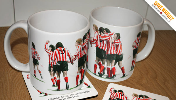The Underdogs - Sunderland AFC 1973 tribute mug
