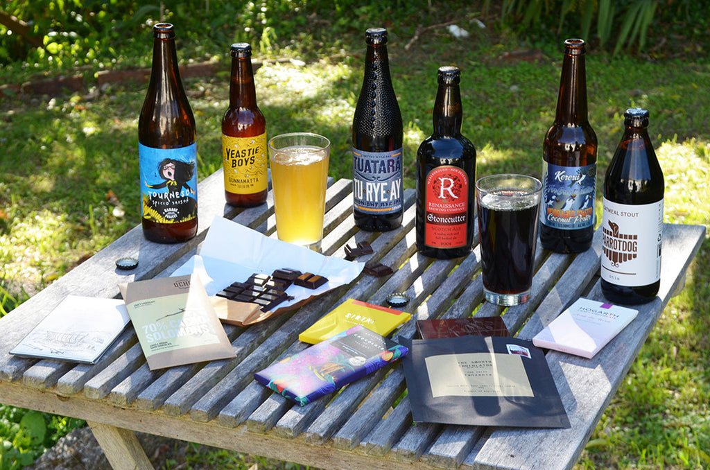 craft beer and chocolate pairing