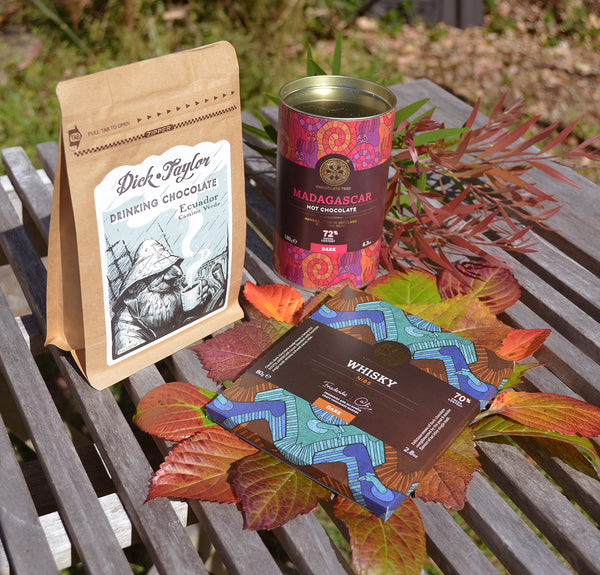 autumn chocolate products