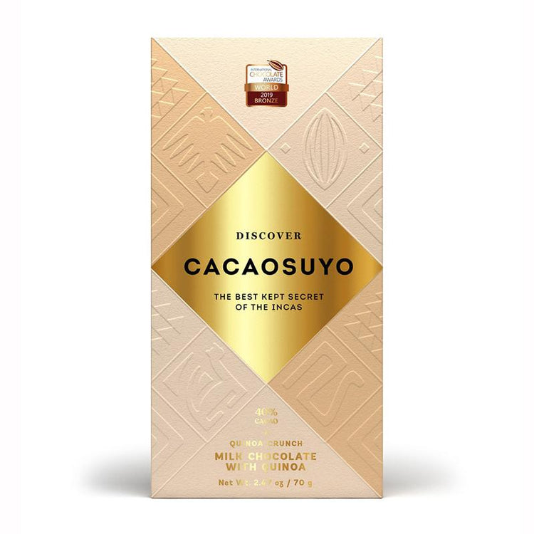 Cacaosuyo Quinoa Crunch Milk Chocolate