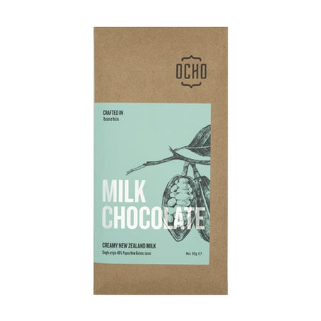 OCHO Chocolate. Sustainable chocolate NZ. Buy chocolate online.
