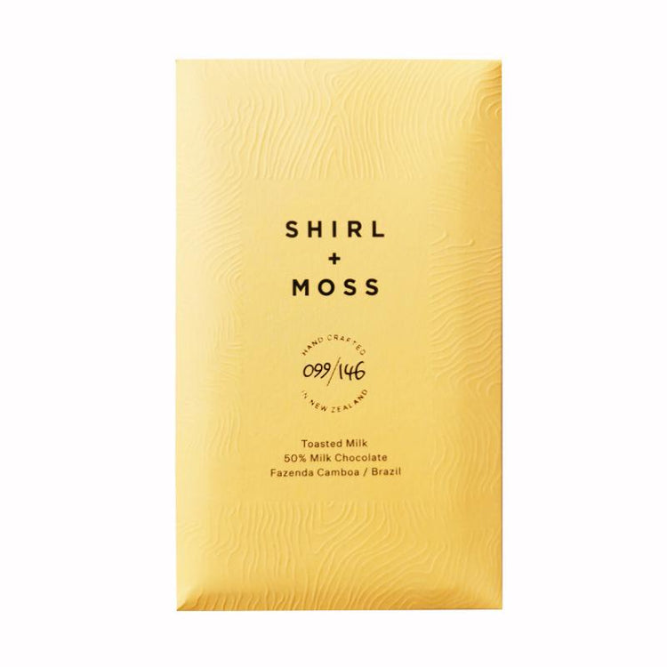 Shirl + Moss chocolate. Organic chocolate NZ. Gift delivery New Zealand.