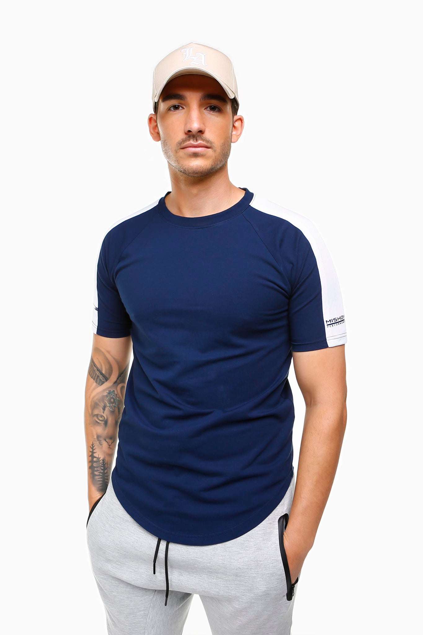 Pursuance Tee - Navy