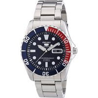 Seiko 5 SNZF15 Blue Dial Stainless Steel Automatic Mens Watch SNZF15