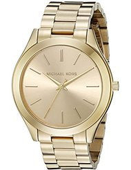 Michael Kors MK3179 Ladies Runway Gold-Tone Watch