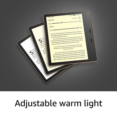 2019 Kindle Oasis - Now with adjustable warm light  8GB 10th Generation - 2019 release