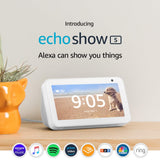 *FREE SHIPPING IN STOCK*Echo Show 5 – Compact smart display with Alexa - Sandstone