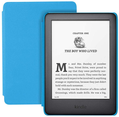 Kindle Kids Edition - Kindle (10th generation) Blue Cover