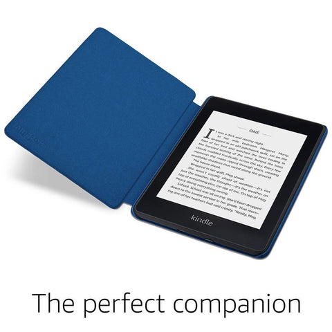Kindle Paperwhite Water-Safe Fabric Cover (10th Generation-2018), Marine Blue