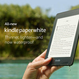 *FREE SHIPPING IN STOCK*Kindle Paperwhite 8GB Black 10th Generation  waterproof - 2018 Model