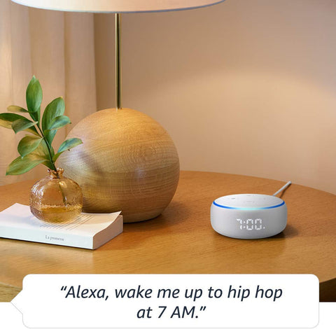 *FREE SHIPPING IN STOCK*Echo Dot (3rd Gen) - Smart speaker with clock and Alexa - Sandstone