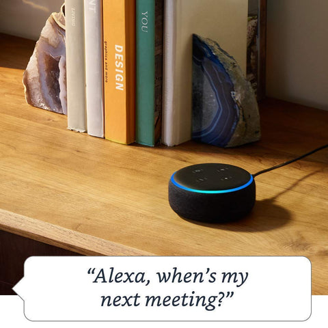 *FREE SHIPPING IN STOCK*Amazon Echo Dot (3rd Gen) - Smart speaker with Alexa - Charcoal