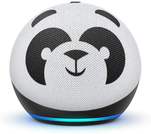 Echo Dot (4th Gen) Kids Edition | Designed for kids, with parental controls | Panda