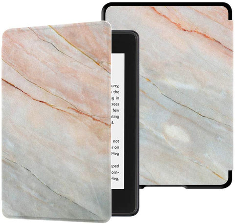 **FREE SHIPPING IN STOCK** Case Fits Kindle Paperwhite (10th Generation, 2018 Release)Marble Pink