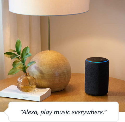 Echo (3rd Gen) - Smart speaker with Alexa -Heather Grey**FREE SHIPPING IN STOCK**
