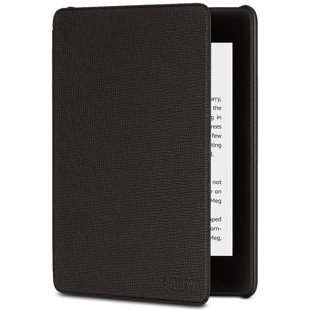 f77e9813ac5 **FREE SHIPPING**Kindle Paperwhite Leather Cover (10th Generation-2018  Model), Black