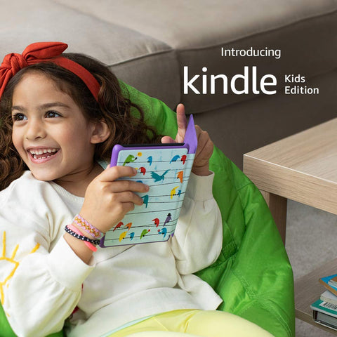 Kindle Kids Edition - Kindle (10th generation) Rainbow Birds Cover