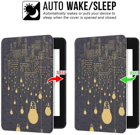 **FREE SHIPPING IN STOCK** Case Fits Kindle Paperwhite (10th Generation, 2018 Release) City Night