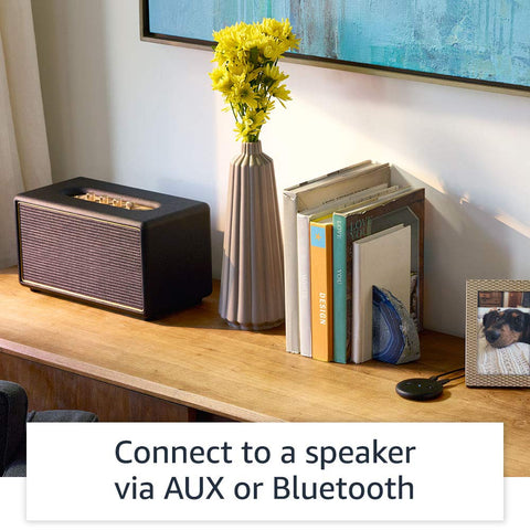 Echo Input – Bring Alexa to your own speaker- Black*IN STOCK*