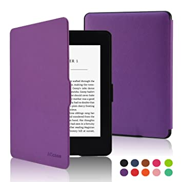 ACdream Case for Kindle E-Reader (8th Generation 2016), The Thinnest and Lightest Cover for Kindle Purple*IN STOCK*