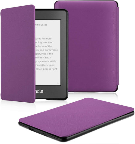 **FREE SHIPPING IN STOCK** Case Fits Kindle Paperwhite (10th Generation, 2018 Release)  Purple