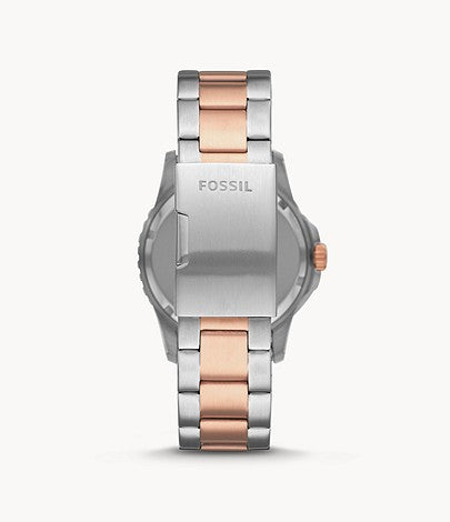 Fossil Men's FB-01 Stainless Steel Casual Quartz Watch FS5654