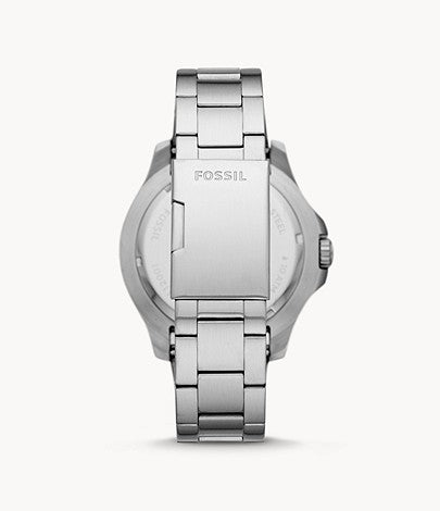 Fossil Men's FB-02 Stainless Steel Casual Quartz Watch FS5691